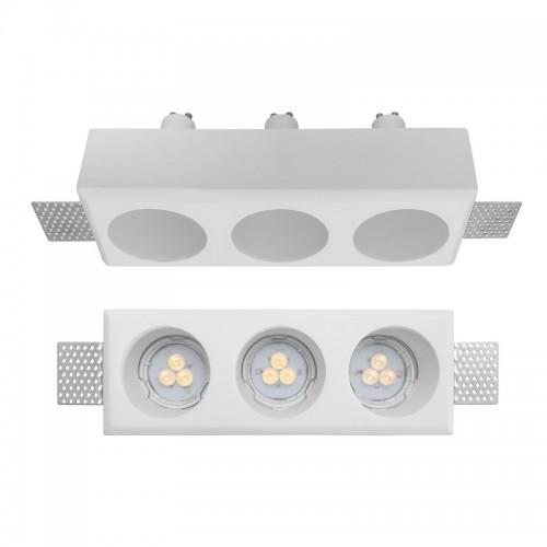 Vestavné svítidlo sádrové GSS13RD