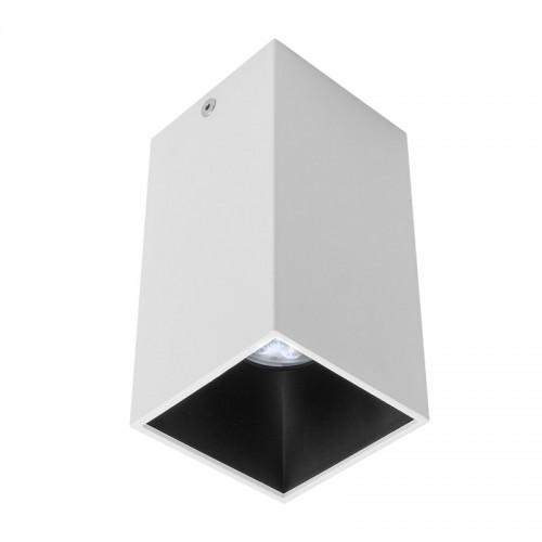 Stropní svítidlo moderní NR02MWH/MBK, matná bílá/černá, GU10