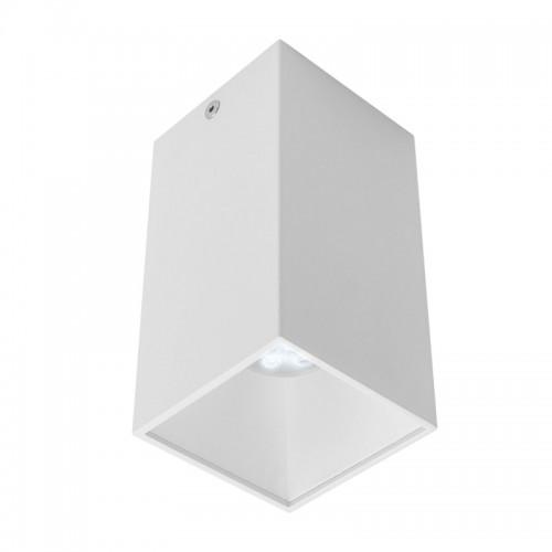 Stropní svítidlo moderní NR02MWH/MWH, matná bílá/bílá, GU10