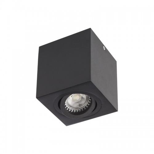 Stropní svítidlo moderní BX01BK, matná černá, GU10