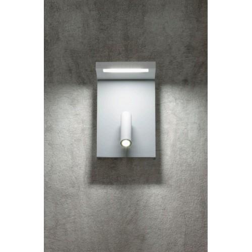 LED nástěnné svítidlo 01-1500 ze série Agos, 6 + 3W, černá