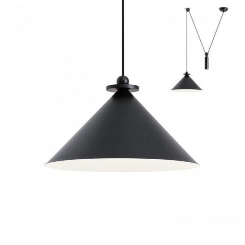 Stahovací svítidlo moderní 01-1546 ze série Kalimba, černá