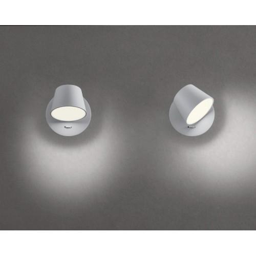 LED nástěnné svítidlo 01-1738 ze série Shaker, matná bílá