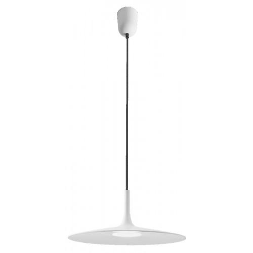 LED závěsné svítidlo 01-1405 ze série Kai, matná bílá, Ø 340mm