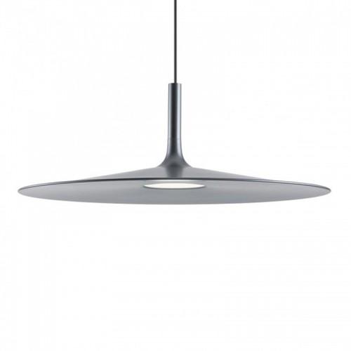 LED závěsné svítidlo 01-1617 ze série Kai, kovová černá, Ø 550mm