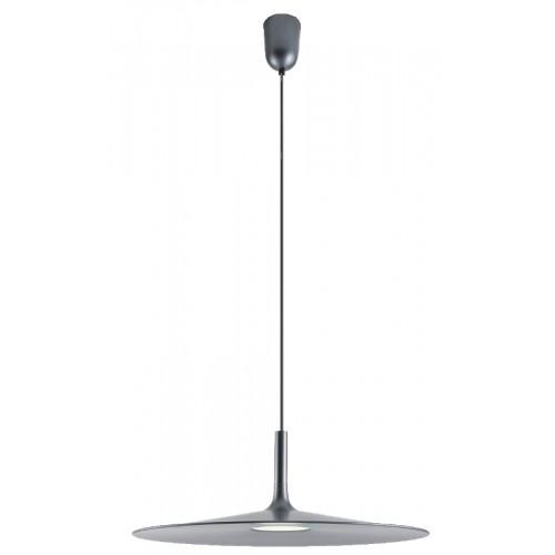 LED závěsné svítidlo 01-1406 ze série Kai, kovová černá, Ø 340mm
