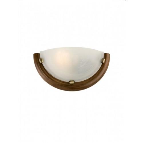 Nástěnné svítidlo moderní 05-085 ze série Cosi, mahagon