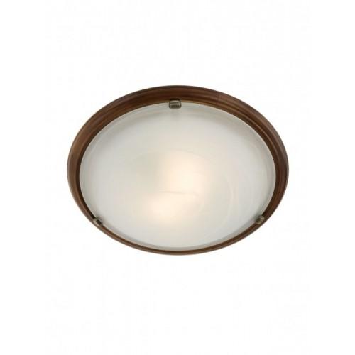 Nástěnné svítidlo moderní 05-091 ze série Cosi, mahagon