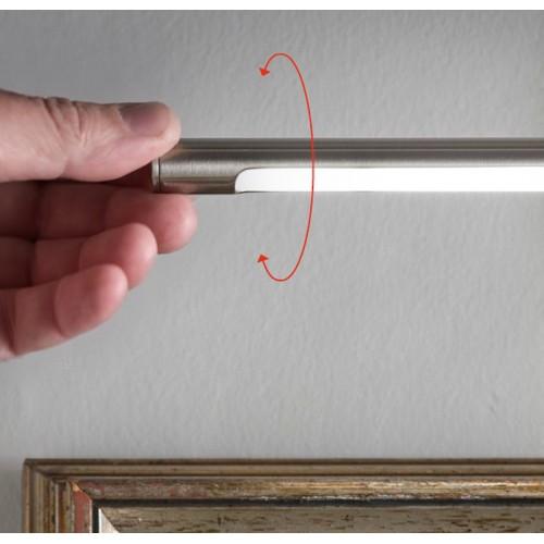 LED nástěnné svítidlo 01-1136 ze série Kendo, 6W, matný nikl
