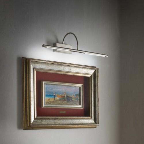 LED nástěnné svítidlo 01-1138 ze série Kendo, 12W, matný nikl