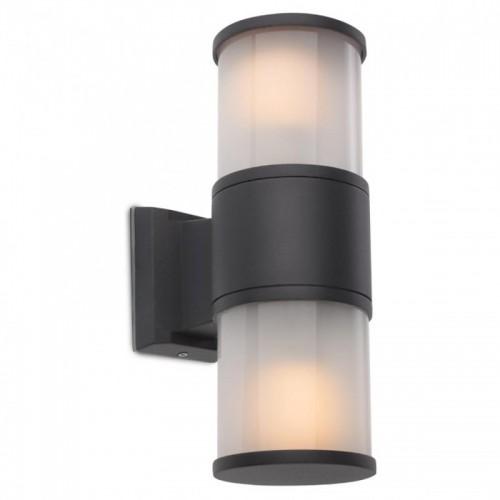 Nástěnné svítidlo exteriérové 9327 ze série Exter, tmavá šedá