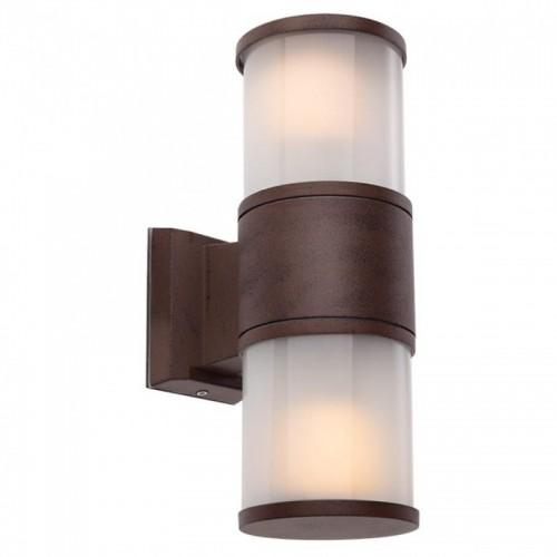 Nástěnné svítidlo exteriérové 9378 ze série Exter, tmavá hnědá
