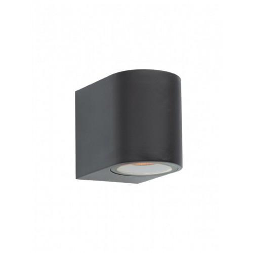 Nástěnné svítidlo exteriérové 9330 ze série Scan, tmavá šedá