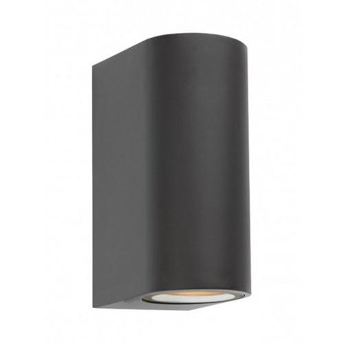 Nástěnné svítidlo exteriérové 9352 ze série Scan, tmavá šedá