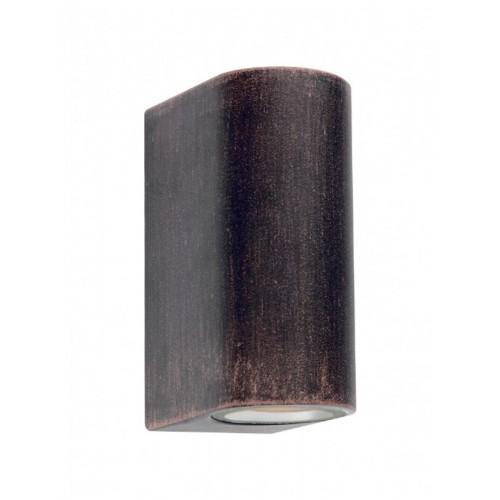 Nástěnné svítidlo exteriérové 9359 ze série Scan, stará rez