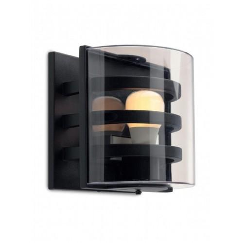 Nástěnné svítidlo exteriérové 9397 ze série Marano, matná černá