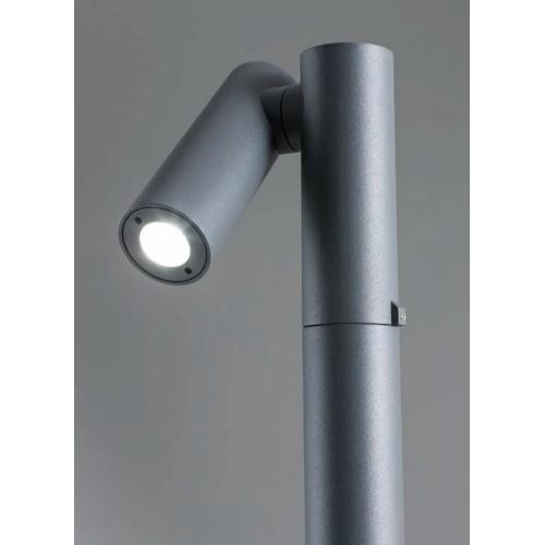 LED sloupkové svítidlo exteriérové 9579 ze série Oblik, 4,5W, tmavá šedá
