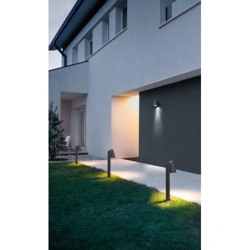 Sloupkové svítidlo exteriérové 9531 moderní ze série Alvar, tmavá šedá