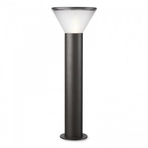 Sloupkové svítidlo exteriérové 9688 moderní ze série Wit, tmavá šedá