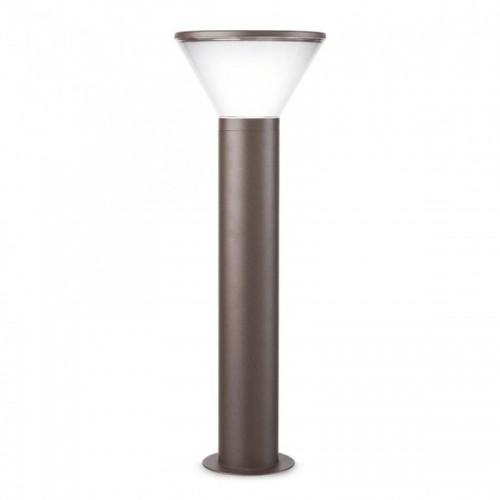 Sloupkové svítidlo exteriérové 9689 moderní ze série Wit, tmavá hnědá