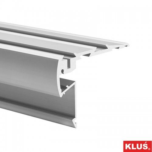 Profil hliníkový 18038 KlusDesign STEPUS, anodizovaný hliník