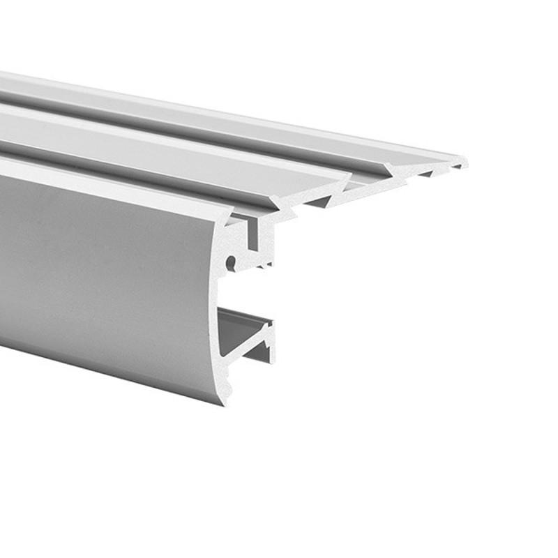 Profil hliníkový 18042 KlusDesign STEP KPL-ALU, anodizovaný hliník