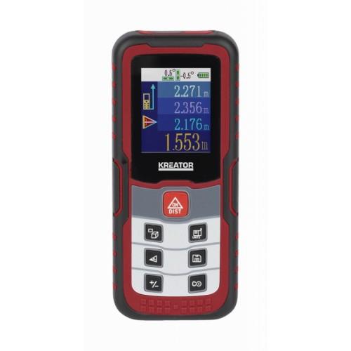 Laserový dálkoměr KRT706510 digitální Kreator, 60m