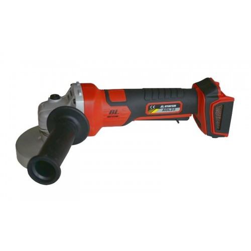 Bruska úhlová akumulátorová AGL22 profesionální Stayer ze série AGL, Ø 115mm, 18V