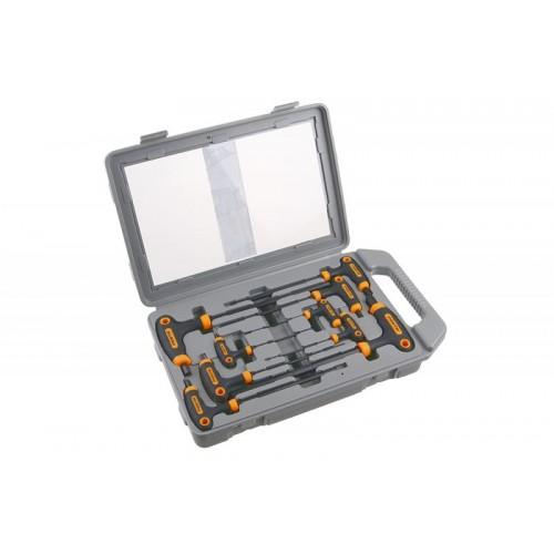 Sada klíčů zástrčných inbusových HEX-T 118494