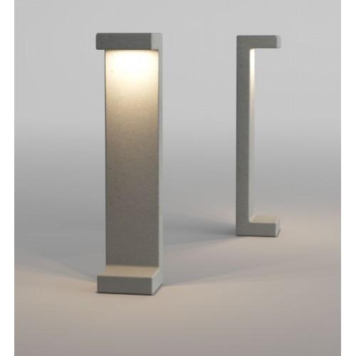 LED sloupkové svítidlo exteriérové 90049 ze série Creta, 8W, tmavá šedá