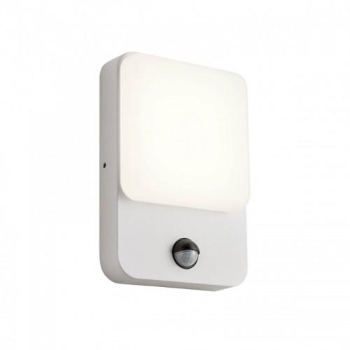 LED nástěnné svítidlo exteriérové 90132 ze série Colin s čidlem pohybu, 9W, písková bílá