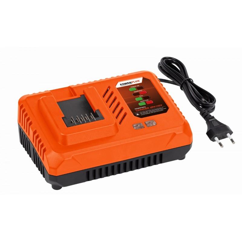 Nabíječka POWDP9051 Powerplus akumulátorů 20V a 40V ze série Dual Power