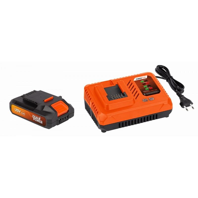 Akumulátor + nabíječka POWDP9062 Powewrplus, 20V