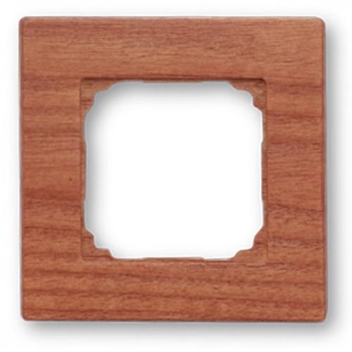 Dřevěný rámeček jednonásobný F - 37, 37-801-02 - třešeň