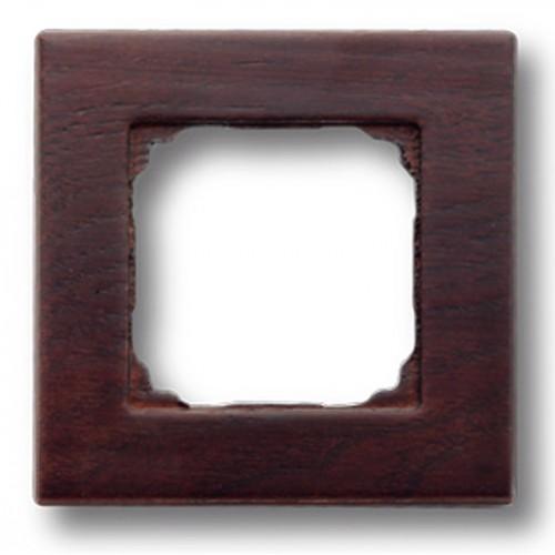 Dřevěný rámeček jednonásobný F - 37, 37-801-04 - wenge