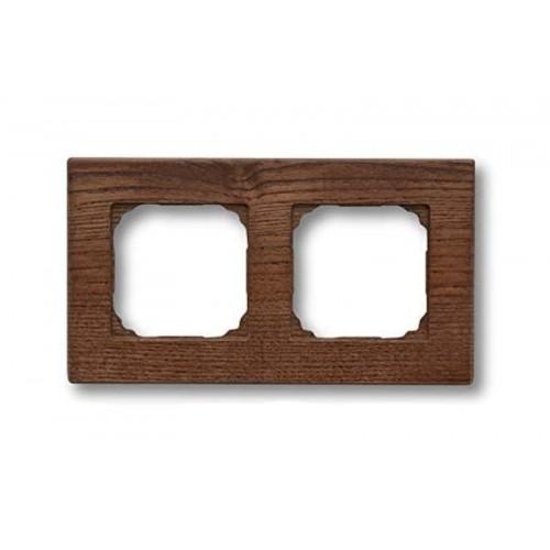 Rámeček dřevěný dvounásobný 37-802-03