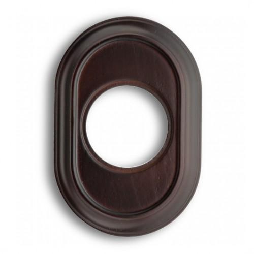 Rámeček dřevěný jednonásobný 35-801-20 ze série Venezia, ořech