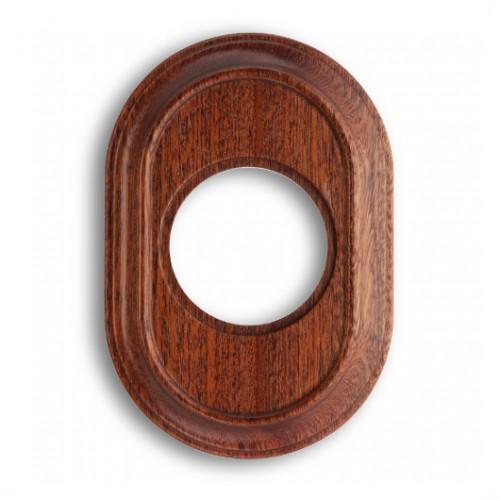 Rámeček dřevěný jednonásobný 35-801-16 ze série Venezia, sapelly