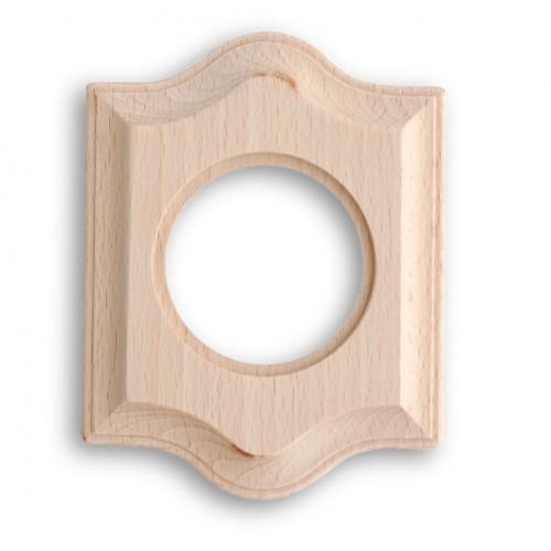 Rámeček dřevěný jednonásobný 36-801-00 ze série Venezia, natural