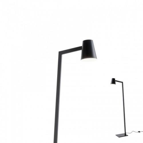 Stojací lampa moderní 01-1557 ze série Mingo, černá
