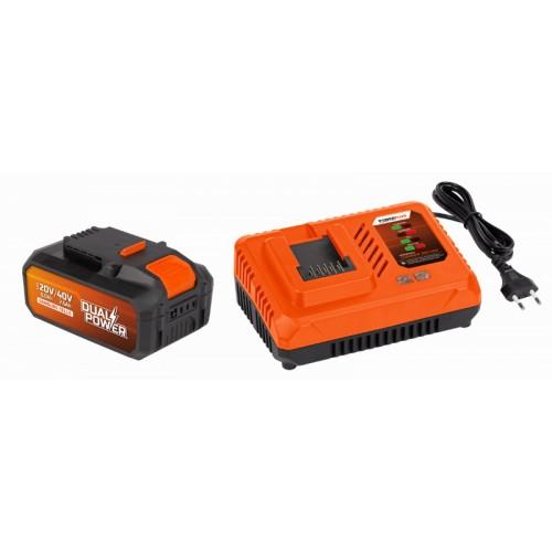 Akumulátor + nabíječka POWDP9064 Powewrplu Samsungs, 40V, 2,5Ah