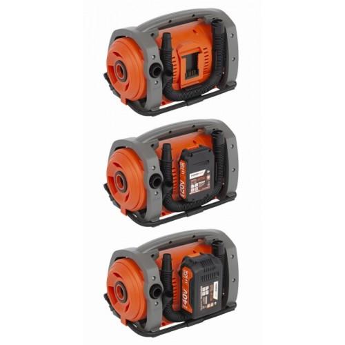 Kompresor elektrický a akumulátorový POWDP7030 Powerplus, 230V+20/40V DC
