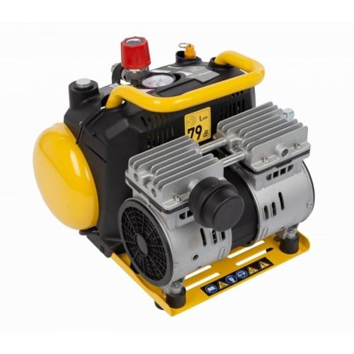 Kompresor elektrický SILENT POWX1724S Powerplus bezolejový, 550W