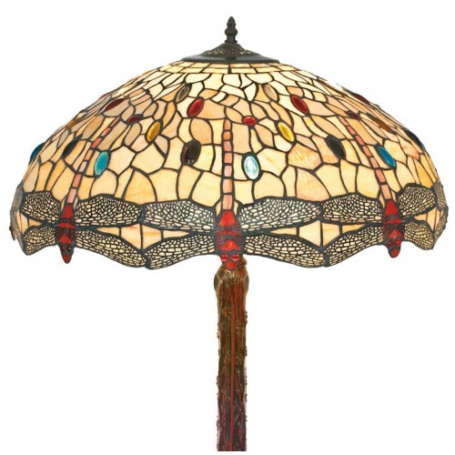 Stolní lampa Tiffany DT2234Y+P3035