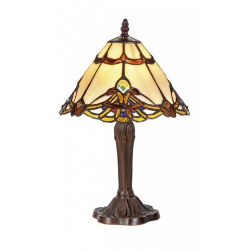 Stolní lampa Tiffany 101082+P2080
