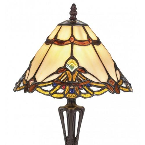 Stolní lampa Tiffany 101082+PBLM11S