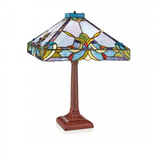 Stolní lampa Tiffany 141352+P533L