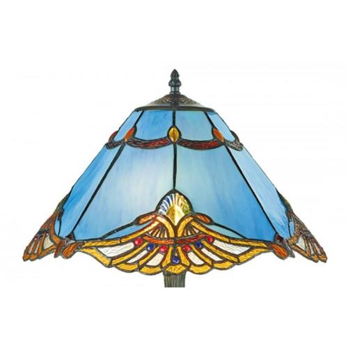Stolní lampa Tiffany, 161072+PBLM11