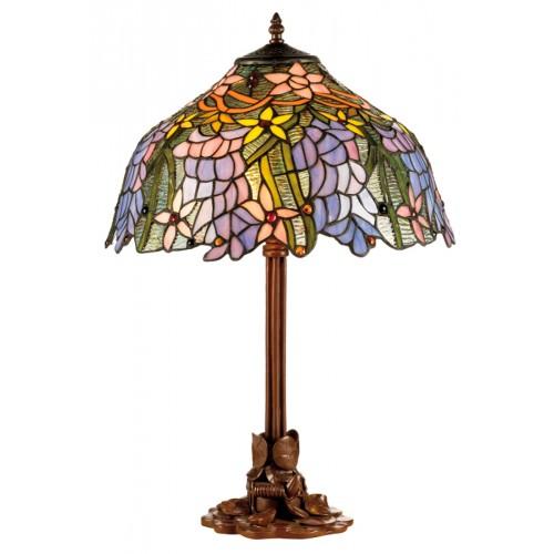 Stolní lampa Tiffany KT1082+P1257