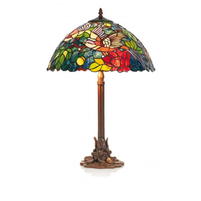 Stolní lampa Tiffany, KT2666+P1257